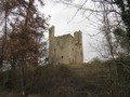 Le château de Tauzia ; les ruines d'un château typiquement gascon 1