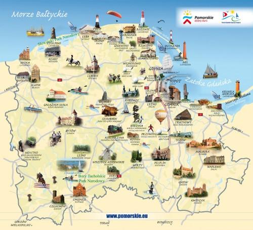 La pom ranie de la petite suisse de pologne la baltique et l 39 h ritage teutonique - Office de tourisme pologne ...