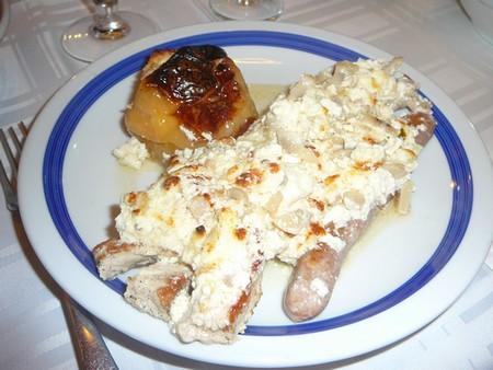 porc à la sauce à la crème cuisine serbe