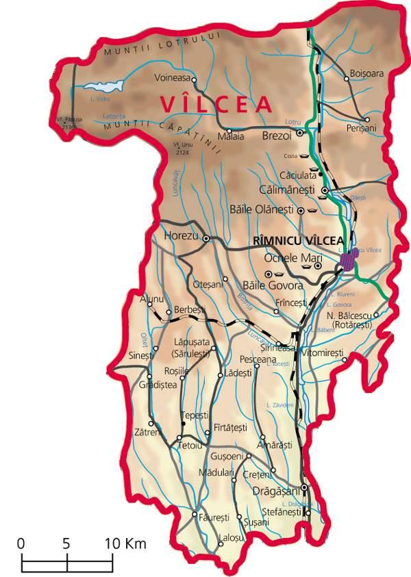 Vâlcea : stations balnéaires et thermalisme sur les bords de l'Olt en Olténie 2