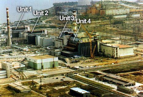 centrale nucleaire Tchernobyl Pripyat
