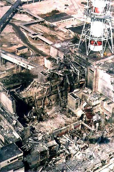 Tchernobyl reacteur IV
