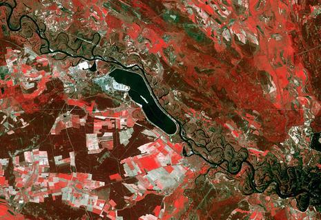 Tchernobyl spotimage satellit