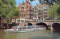 Amsterdam : Bateau mouche, un transport public au quotidien 1