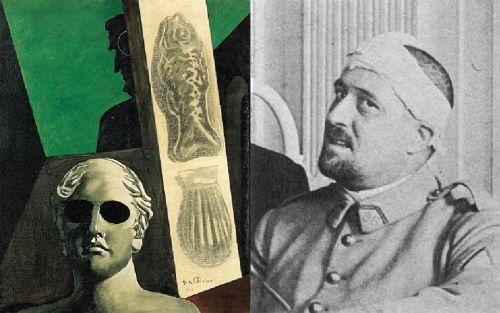 chirico apollinaire Victor Brauner : le pictopoète des yeux et la subersion du regard
