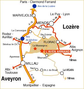 L'Aven Armand : un gouffre incontournable en Lozère 1