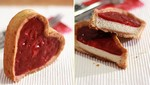 Recette de tartelettes d'amour à la mousse de poire & coulis d'airelles 1