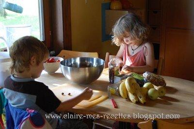 Bircher musli petit dejeuner suisse