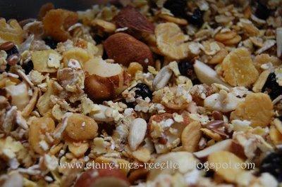 Bircher musli petit déjeuner suisse