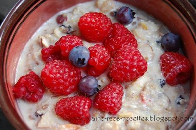 bircher musli fruits