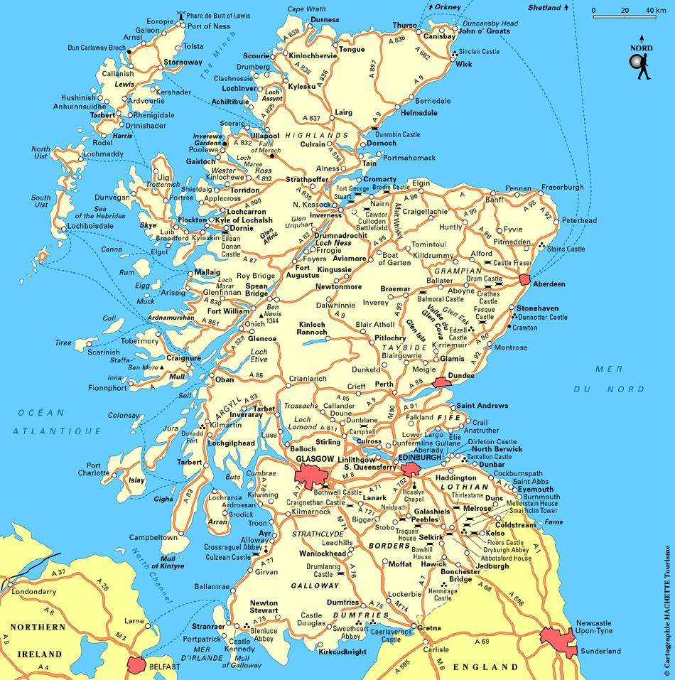 Découvrir l'Écosse ; le pays des lacs et des hautes terres (Tourisme Ecosse) 1