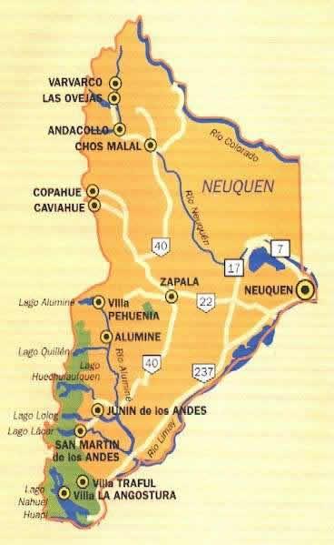 Voyage en Argentine : De Neuquen à San Martin de los Andes 1