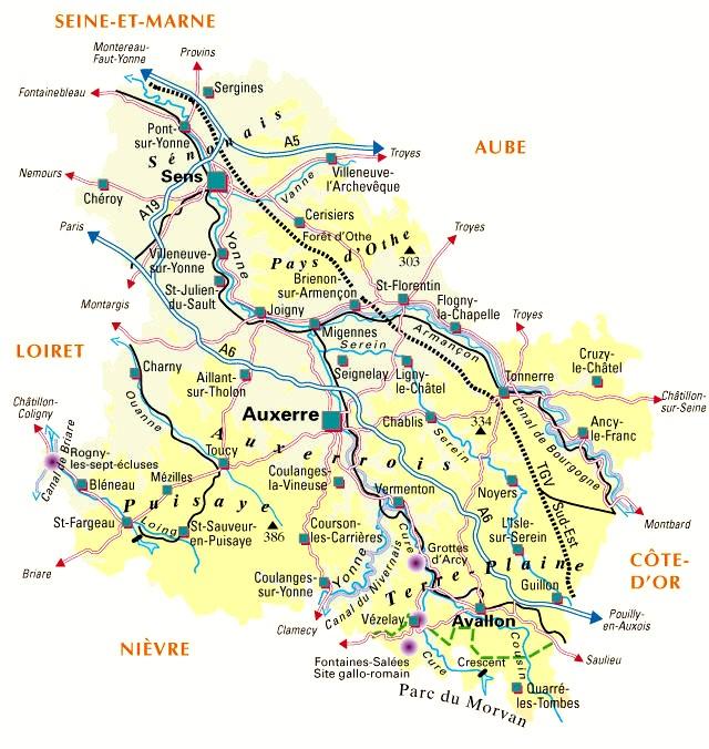 Bourgogne Randonnée en VTT : la route des hameaux du Vezelay et de l'Yonne 2