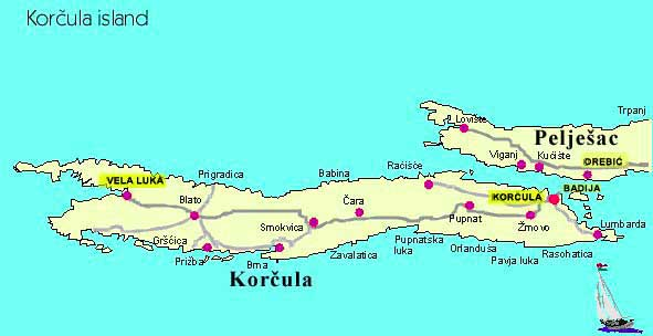 Korcula : l'île paradisiaque de l'Adriatique en Croatie 3