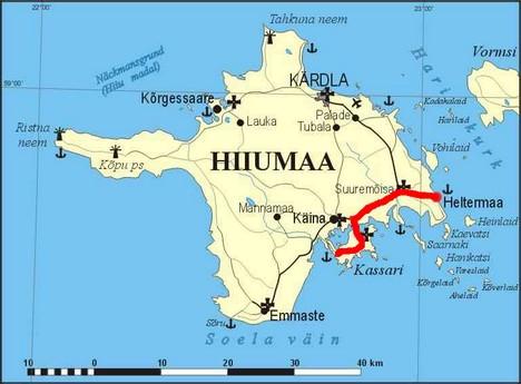 Ile Hiiumaa en Estonie ; le charme de l'écotourisme dans la Baltique 2