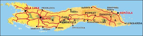 Korcula : l'île paradisiaque de l'Adriatique en Croatie 4