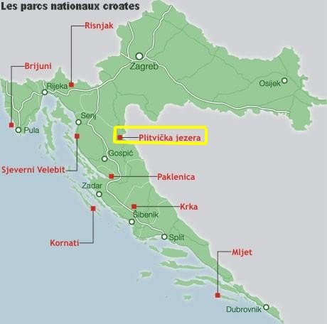 parc national croatie