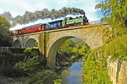 Train à vapeur des Cévennes: voyager au coeur du Gard en Train touristique 1