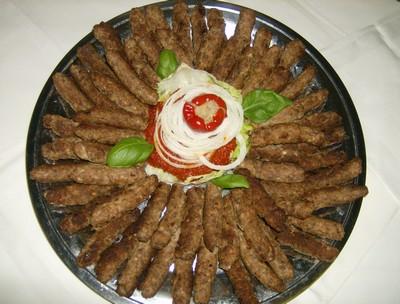 Cevapcici cevapi cuisine bosniaque