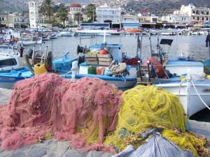 un port de Crète