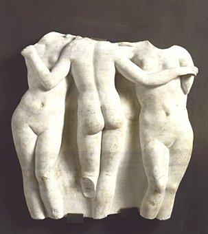 Trois Grâces : Aglaé, Euphrosyne et Thalie 1