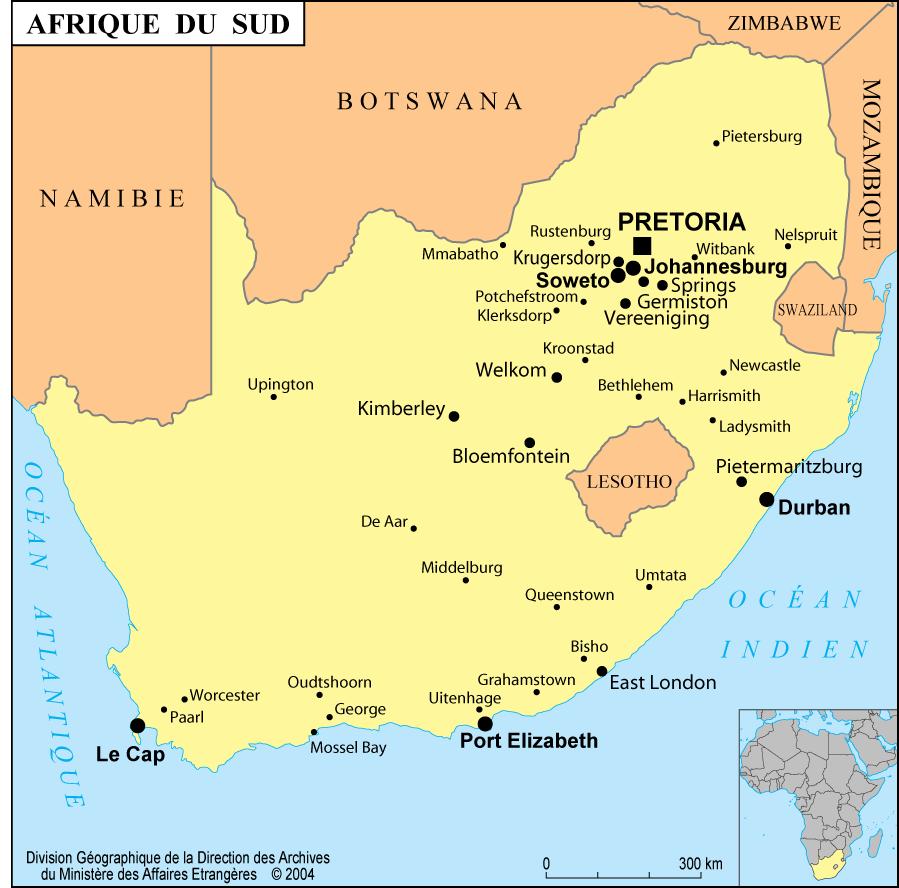 Worcester rencontres Afrique du Sud