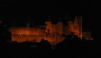 Feu d'artifice de Carcassonne du 14 Juillet ; sublime embrasement de la cité médiévale 14
