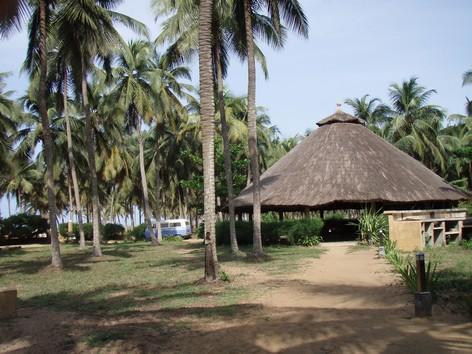 Jardin Helvetia : Sur la route des Pêches près de Cotonou ; le paradis sous les cocotiers 1