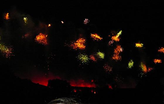 Feu d'artifice de Carcassonne du 14 Juillet ; sublime embrasement de la cité médiévale 15