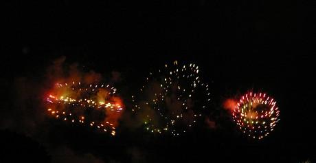 Feu d'artifice de Carcassonne du 14 Juillet ; sublime embrasement de la cité médiévale 7