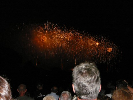 feu artifice cite carcassonne