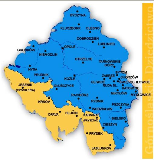 La région de Haute Silésie (Gorny Slask) en Pologne 5