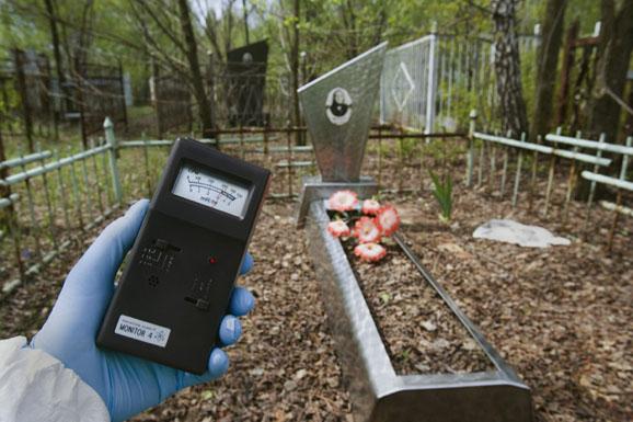 mesure radioactivité tchernobyl