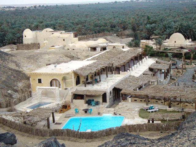 Egypte : Qsar Bawiti : un hôtel de charme à Bahariya, oasis du Désert Lybien 1