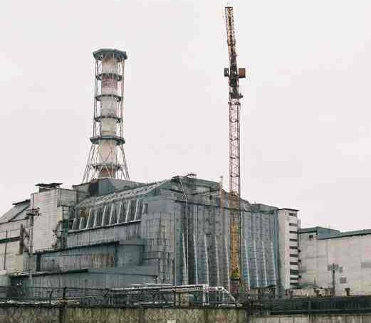 tchernobyl réacteur 4 sarcophage