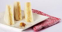 Tramezzini au pesto d'artichauts et noix au thon ; apéritif turinois (Recette italienne) 1