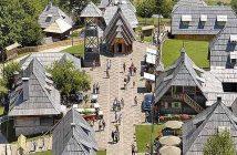 Drvengrad Kustendorf : l'ethnovillage de Kusturica près de Mokra Gora en Serbie 6
