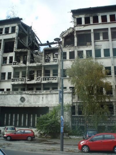 Novi Beograd autrement ; visiter Belgrade au-delà des évidences 52