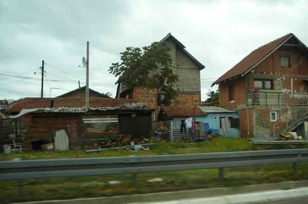 bidonville à belgrade