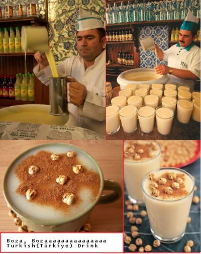 Boza ; boisson traditionnelle fermentée de la cuisine turque et des Balkans 1