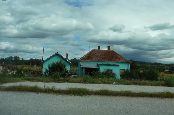 campagne à la sortie de belgrade