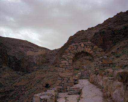 Tourisme Syrie : monastère syriaque Deir Mar Musa el Habashi 1