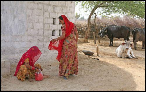Société indienne : Le monde est rouge 4