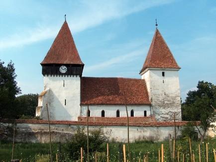 Merghindeal : village saxon et église fortifiée de Transylvanie (Tourisme Roumanie) 2