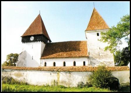 Merghindeal : village saxon et église fortifiée de Transylvanie (Tourisme Roumanie)