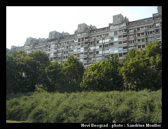 Novi Beograd autrement ; visiter Belgrade au-delà des évidences 14