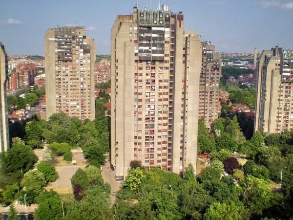 immeubles de novi beograd