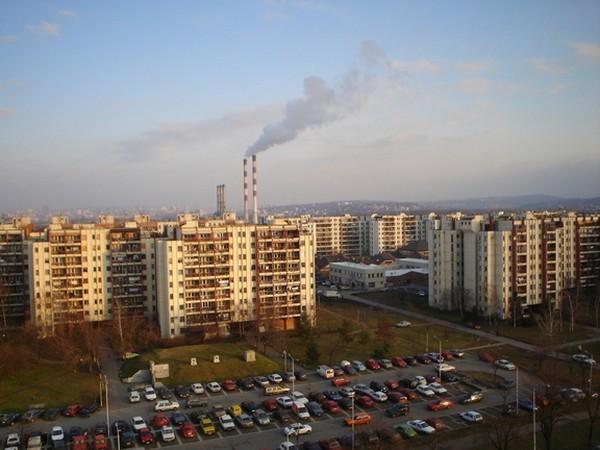immeubles à novi beograd