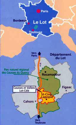 Saint Cirq Lapopie, l'un des plus beaux villages de France en Quercy (Lot Tourisme) 1
