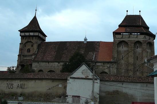 Valea Viilor ; village saxon et église fortifiée de Transylvanie 4